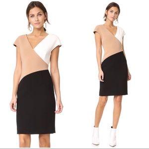 DVF colorblock career Sheath dress